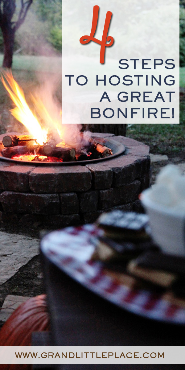 vintage folk bonfire party ideas