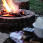 Is it fall yet?  Time to enjoy our DIY Fire Pit!