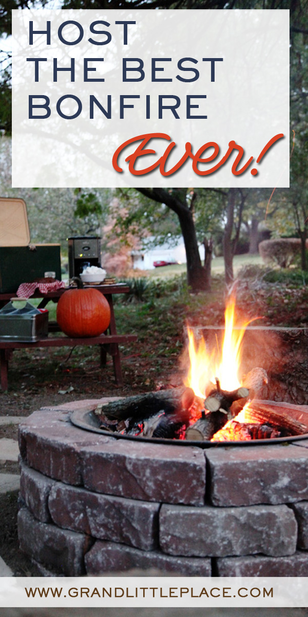 Bonfire party ideas for teens and families