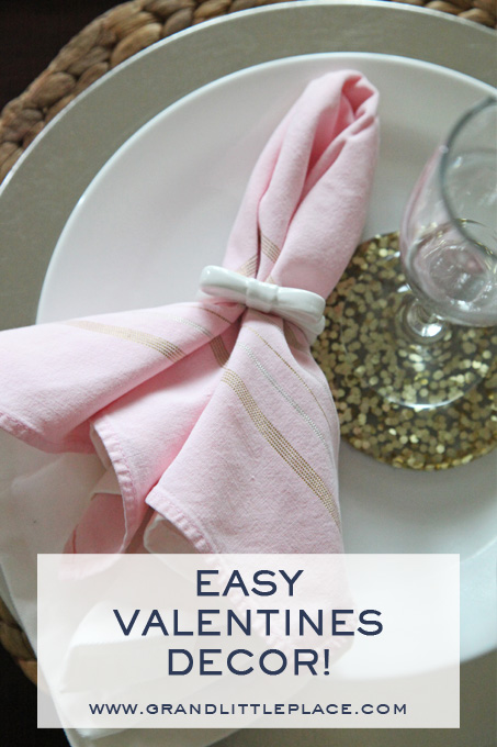 Easy ways to decorate for valentines day on the cheap using what you already have includes 3 free printable banner links