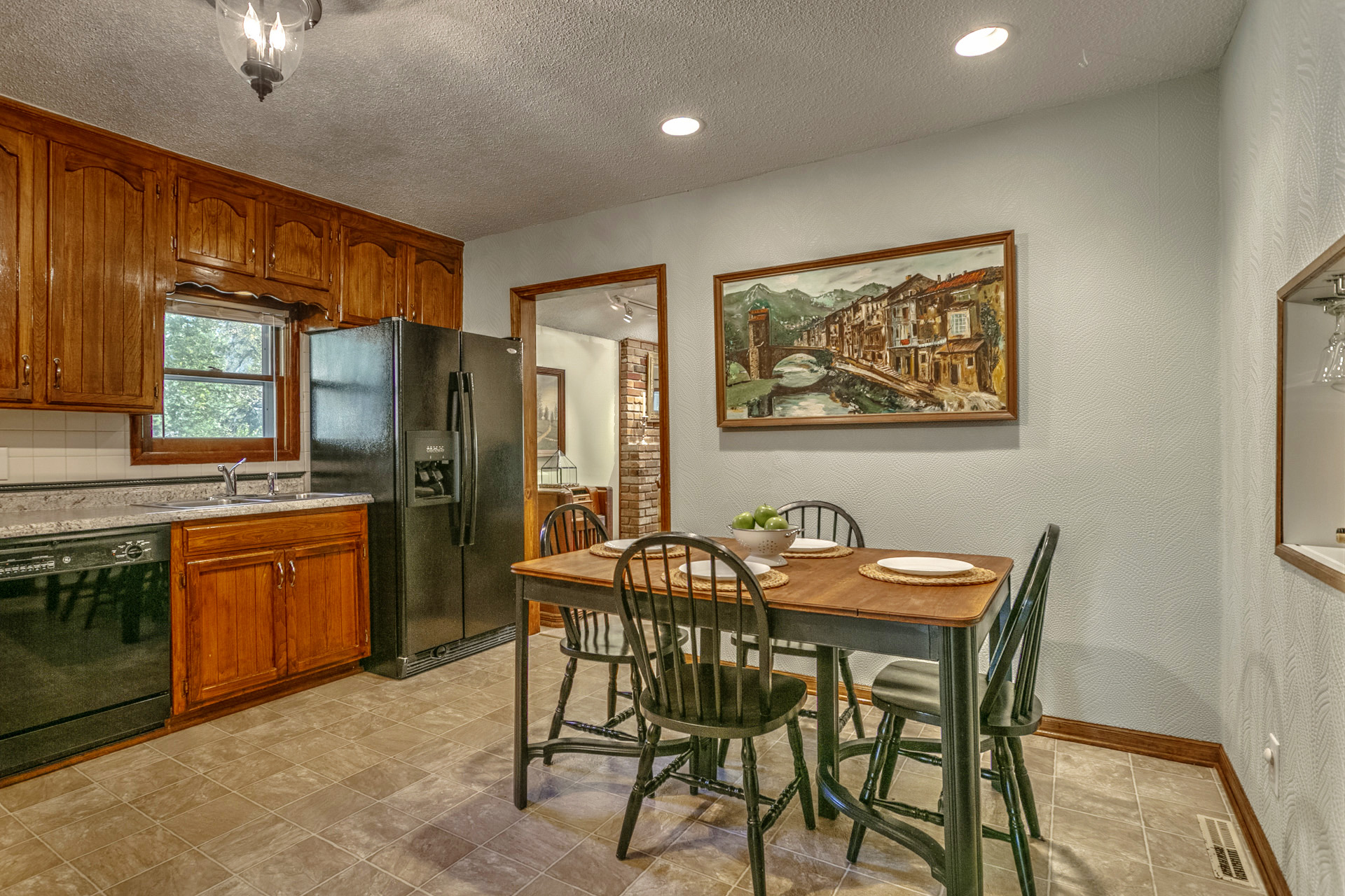 Stage an outdated kitchen to sell your home fast