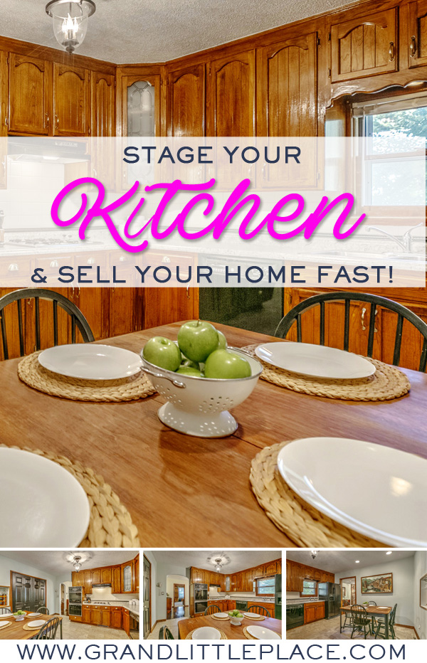 How to stage a kitchen to sell your home fast