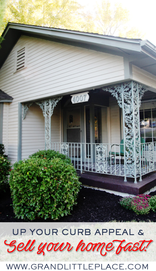 Increase curb appeal to sell your house fast
