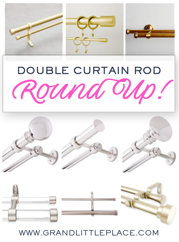 Best Places to Find Double Curtain Rods online
