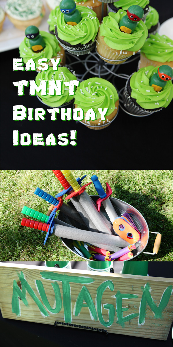 How to throw an easy ninja turtle birthday party