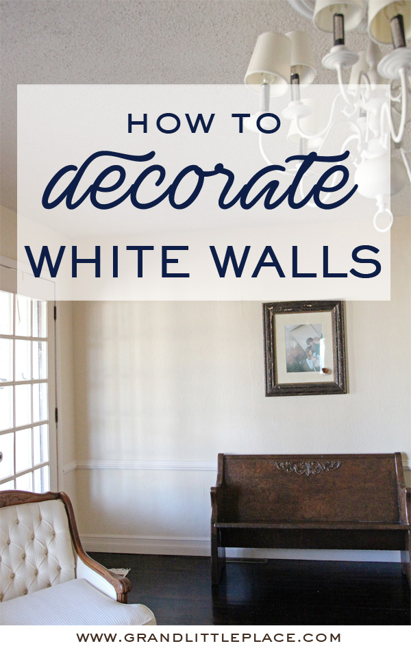 Best ways to make white walls work in an outdated house