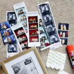 Easy DIY for displaying photo strips