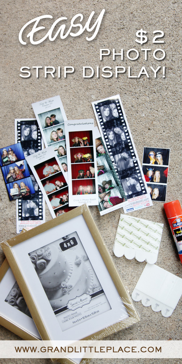 How to display photo strips from a photo booth