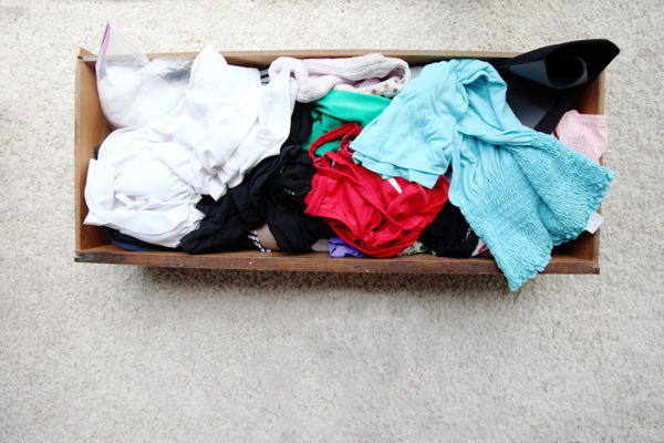 How to use Ikea Skubb Organizers in your dresser drawers