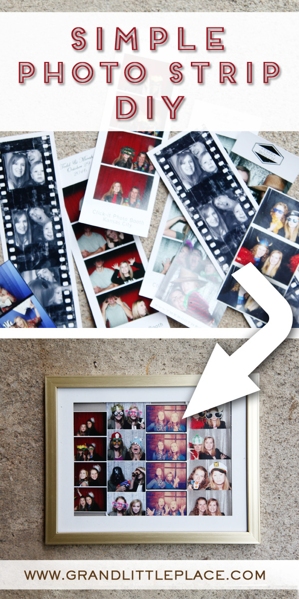 Simple Photo Strip Display Idea