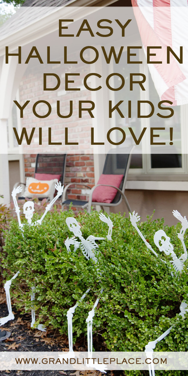 Kid Friendly Halloween Decor from the Dollar Tree