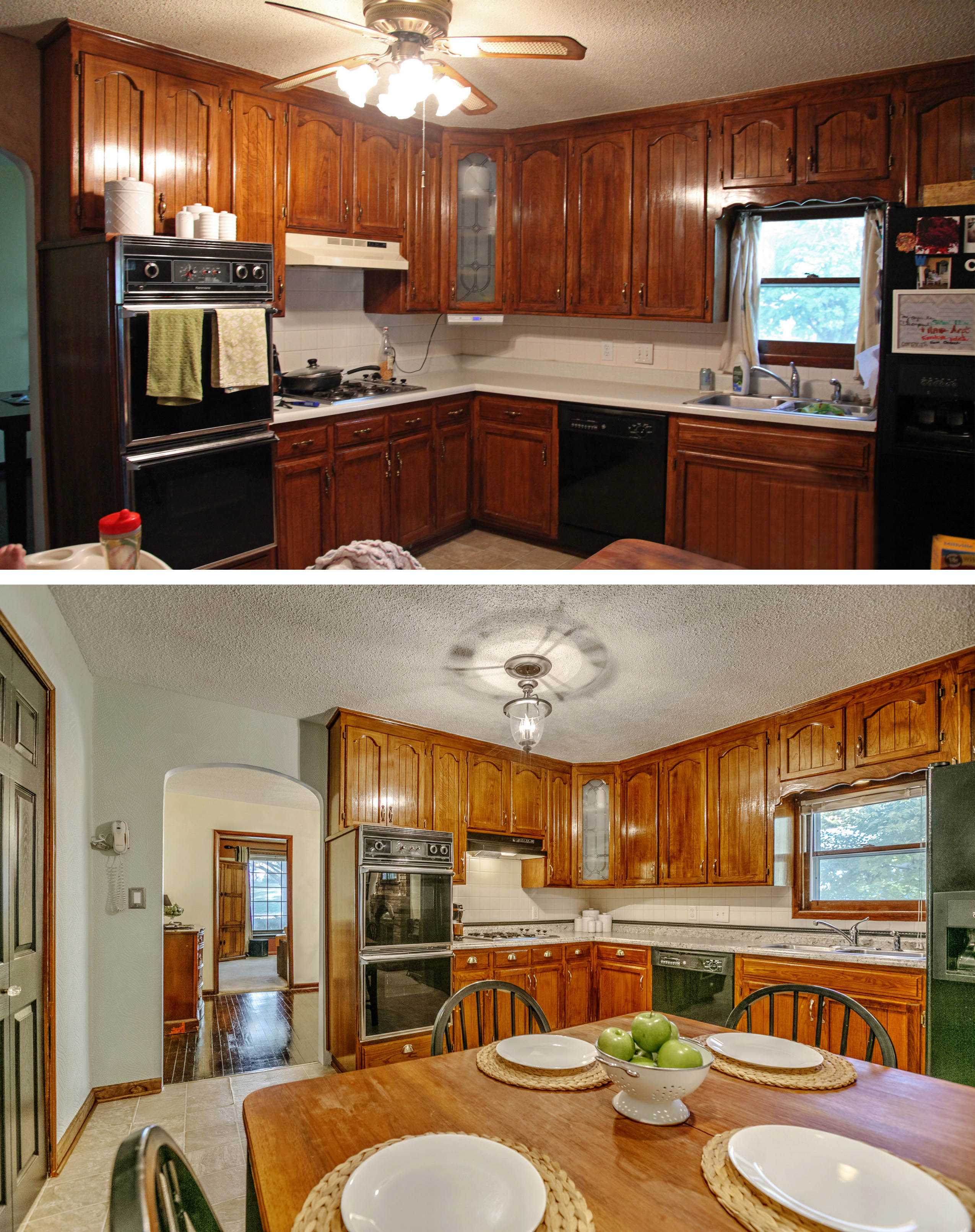 Complete Guide Of Home Staging Tips, Living Room Staging A House Before And After