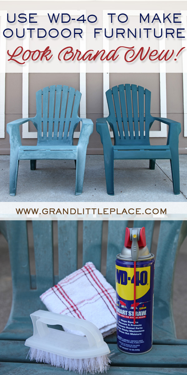 Super Use Wd 40 On Plastic Furniture To Make It Look New Grand Beutiful Home Inspiration Truamahrainfo